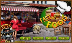 Free Hidden Object Games - Fast Food screenshot 1/4