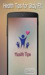 Health Tips new screenshot 1/3