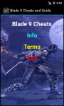 Blade 9 Cheats N Guide screenshot 2/4