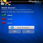 FreePlay Physics Quiz Lite screenshot 2/2