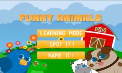 Funny animals for babies Full screenshot 4/4