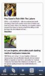 Los Angeles California News Pro screenshot 1/4
