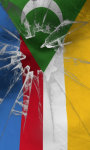 Comoros flag lwp Free screenshot 1/5