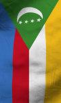 Comoros flag lwp Free screenshot 3/5