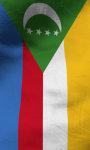 Comoros flag lwp Free screenshot 4/5