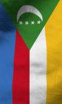 Comoros flag lwp Free screenshot 5/5