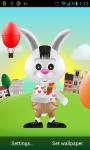 Bunny Rabbit Live Wallpaper screenshot 1/3