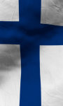 Finland flag live wallpaper Free screenshot 3/5