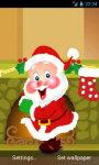 Celebrating Santa Live Wallpaper screenshot 2/5
