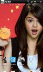 Selena Gomez Live Wallpaper 3 screenshot 3/3