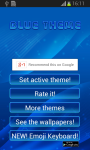 Blue Theme Free screenshot 1/6