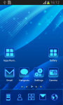 Blue Theme Free screenshot 2/6