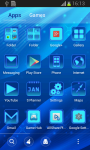 Blue Theme Free screenshot 3/6