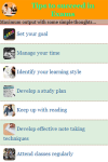 Tips to succeed in Exams screenshot 2/3