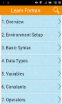 Learn Fortran screenshot 1/2