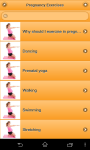 Pregnancy Exercises Woman screenshot 1/6