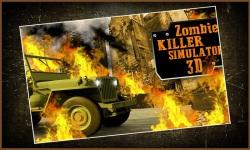 Zombie Killer Simulator 3D screenshot 1/5