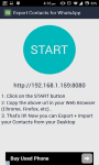 Export Whatsapp Contact screenshot 2/3