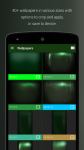 PipTec Green Icons and Live Wall actual screenshot 1/6
