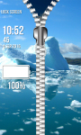 Cool Winter Zipper Lock Screen screenshot 6/6