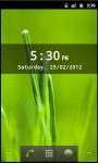 Digital Clock Widget Android screenshot 2/6
