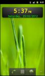 Digital Clock Widget Android screenshot 3/6