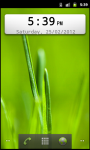 Digital Clock Widget Android screenshot 4/6