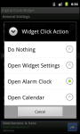 Digital Clock Widget Android screenshot 6/6