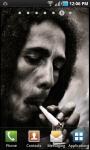 Bob Marley Smoking Live Wallpaper screenshot 1/2