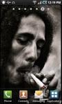 Bob Marley Smoking Live Wallpaper screenshot 2/2
