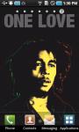 Bob Marley LWP screenshot 1/3