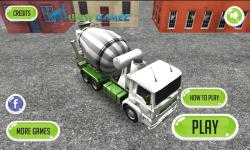 Construction Truck 3D screenshot 1/4
