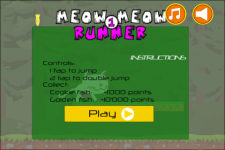 Meow Meow Runner screenshot 1/4