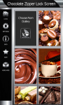 Chocolate Zipper Lock Screen screenshot 4/6