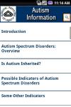 NIH: Autism Information screenshot 1/1