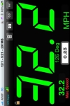 JustSpeed large GPS speedometer display with max speed & course screenshot 1/1