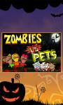 Zombie Vs Petss screenshot 1/4