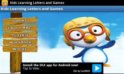 Kids Learning Letters and Games screenshot 1/5