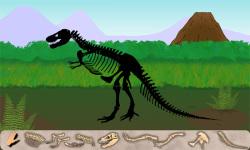 Dinosaur Excavation: T-Rex screenshot 2/3