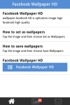 Facebook Wallpaper HD screenshot 1/3