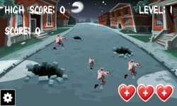 Zombie Killer Game screenshot 1/6