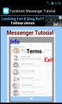 Facebook Messenger Tutorial screenshot 2/4