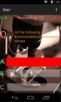 Biotechnology knowledge test screenshot 2/6