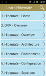 Learn Hibernate screenshot 1/3