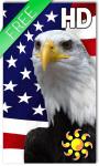 USA Flag Live Wallpaper HD screenshot 1/2
