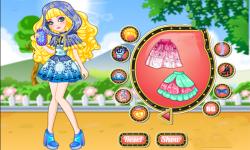 Ever After High Blondie Lockes Dress Up screenshot 3/3