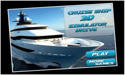 Cruise Ship 3d Simulator Drive screenshot 1/5