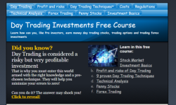 Stock Market Day Trade Course - Investment course  screenshot 1/3