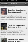 Newsworthy for iPhone - Australian Edition screenshot 1/1