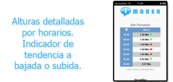 InfoMarea screenshot 2/4